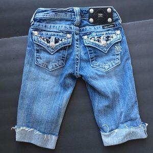 Miss Me Bottoms - Miss Me denim girls shorts jeans 7